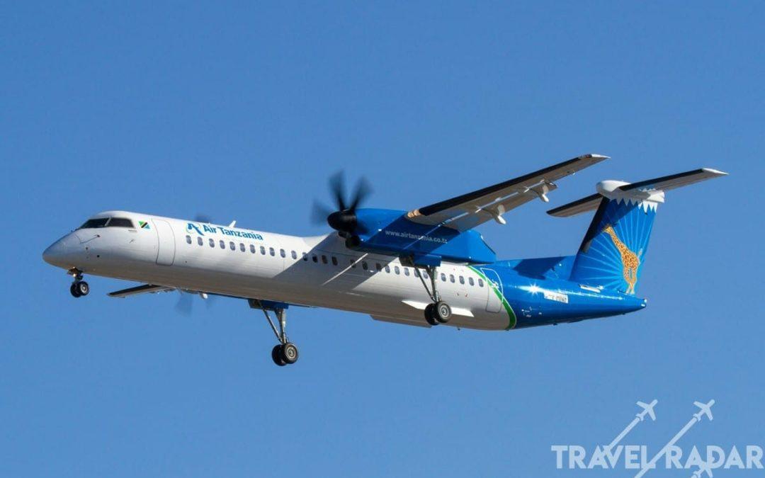 Tanzania's Bombardier Q400 plane seized in Canada