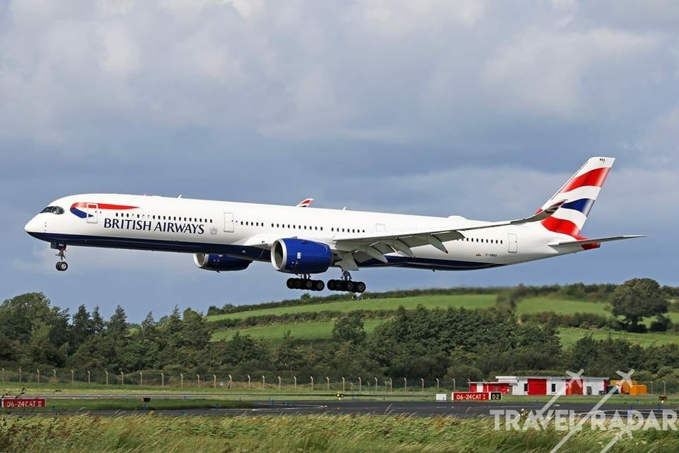 New British Airways A350 DAMAGED While in Paint Shop