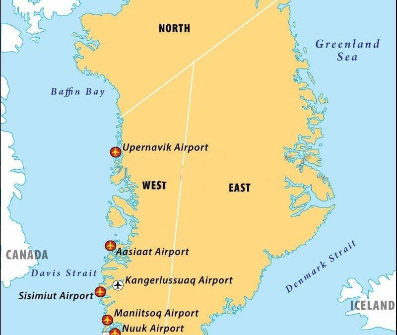 Global Warming may CLOSE Greenland's Airport