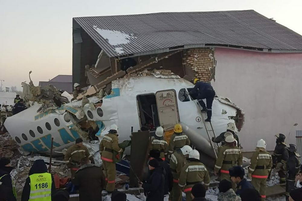 bek-air-disaster:-fokker-100-crashes-in-almaty