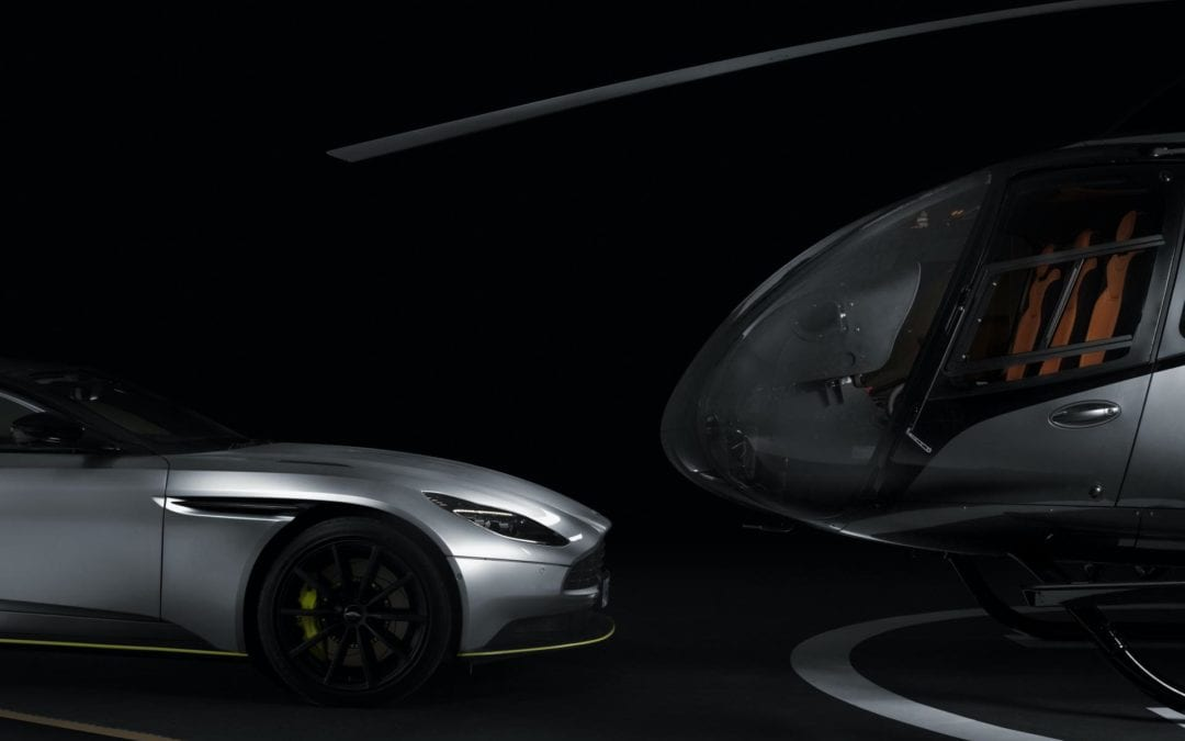 Aston Martin Unveils Super-Limited Airbus Helicopter