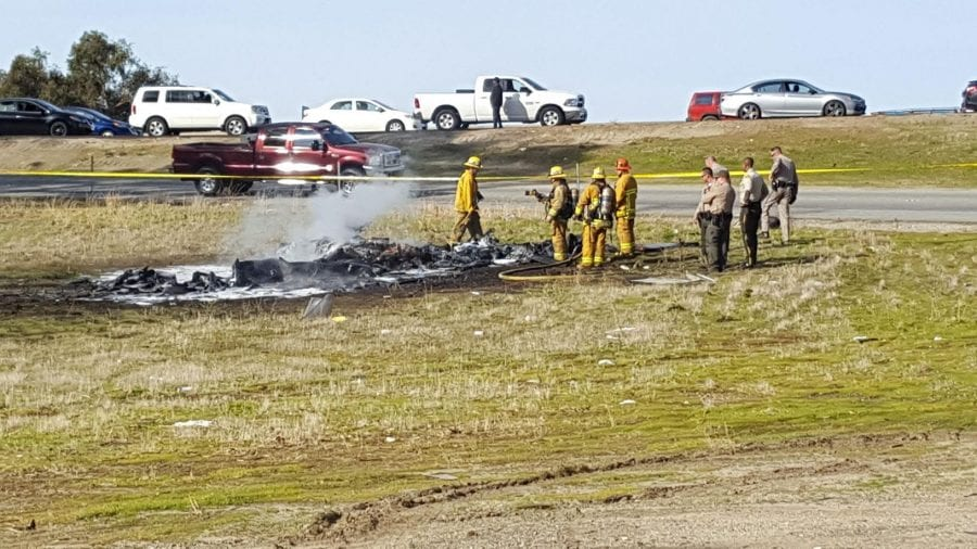 Pilot killed when small home built plane crashes
