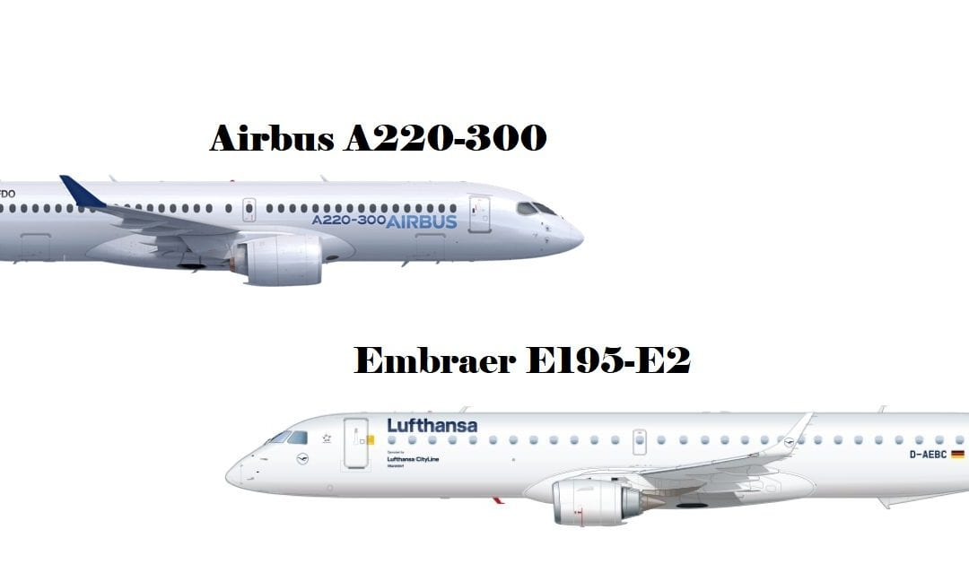 big-battle-of-the-smaller-jets-airbus-a220-300-vs-embraer-e195-e2