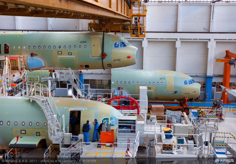 Airbus to Start New Production Line for A320neo Series Aircraft