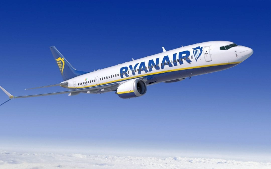Ryanair Announces Further Cuts To Winter Programme