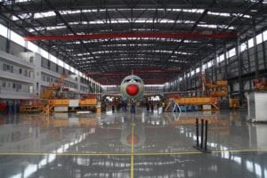 airbus-restarts-facility-in-tianjin,-china