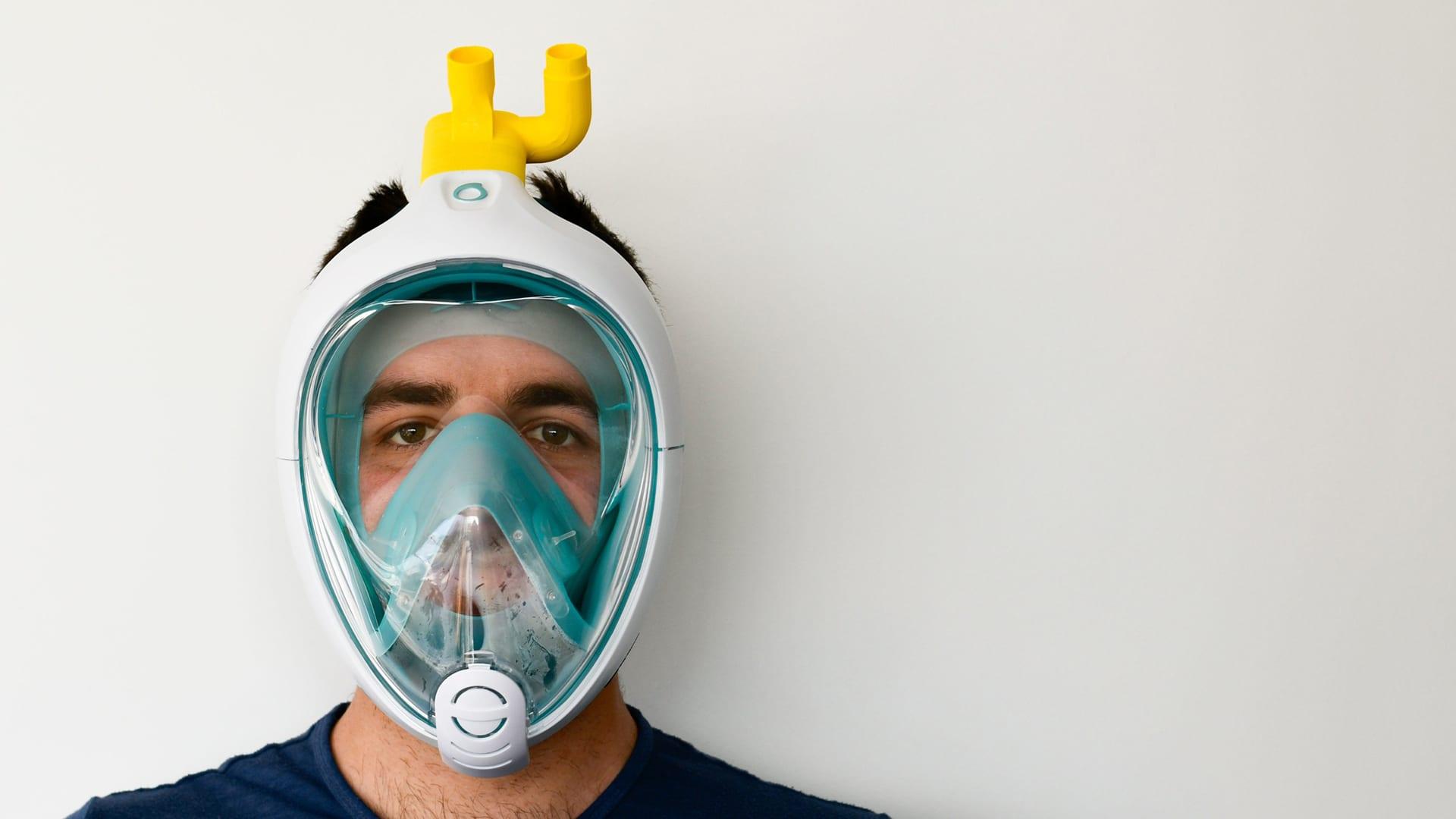 mentour-snorkel-ventilator