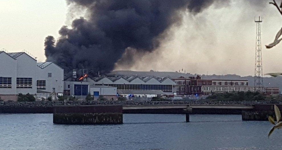 significant-fire-at-bombardier-factory-in-belfast