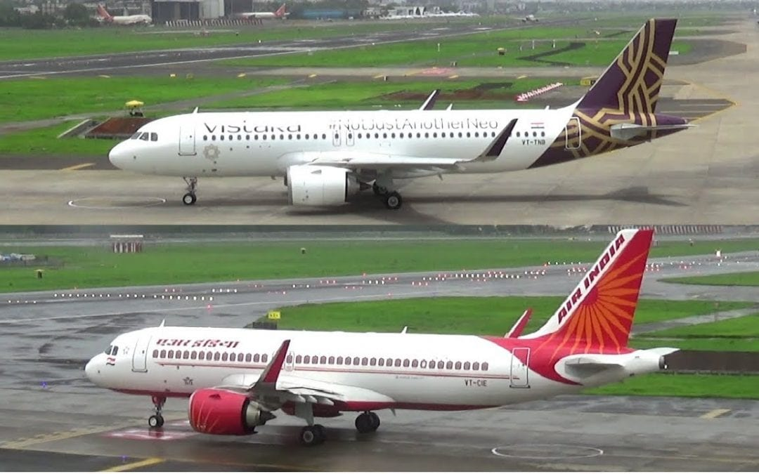 Two Vistara Pilots, Numerous Air India Cabin Crew Detected Positive for COVID-19