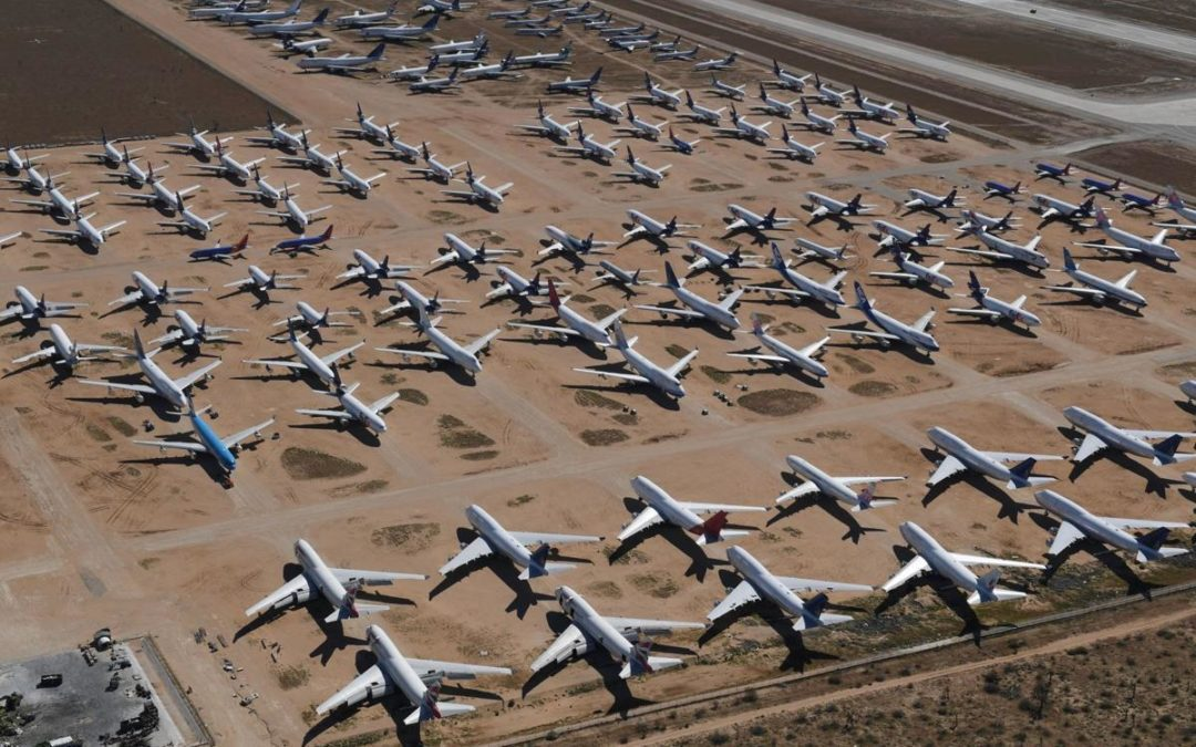 Storage of Planes – A Logistical Nightmare