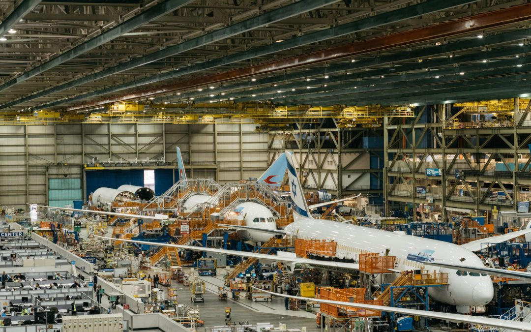 Aircraft Manufacturing Hits A New Low