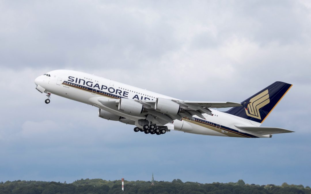 Singapore Airlines A380s on Their Way Out?