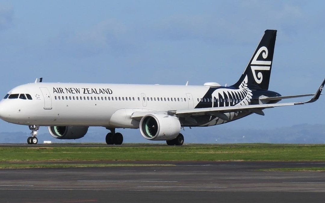 Air New Zealand A320 Diverts To Christchurch After Suffering a Lightning Strike