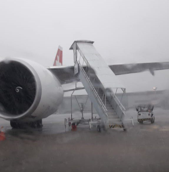 Swiss Boeing 777 Damaged by Airstairs…