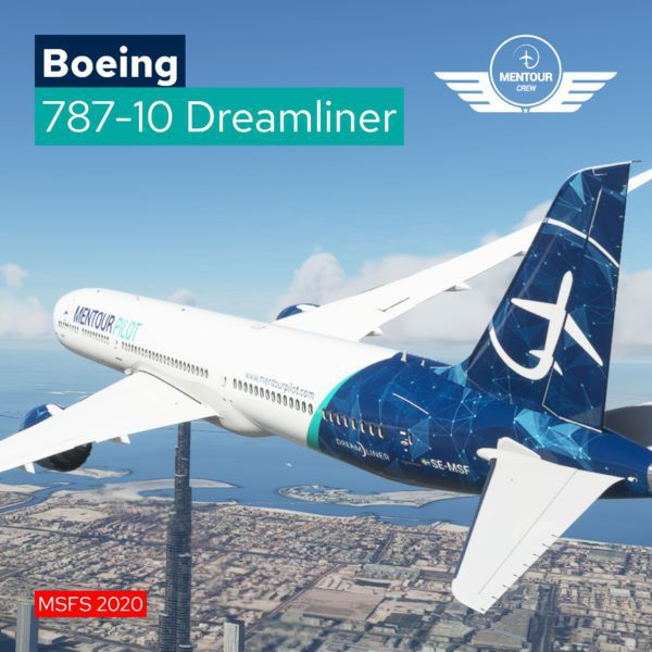 787 Dreamliner – Mentour Pilot Livery