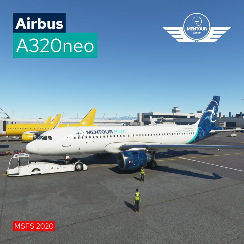 Airbus A320 NEO – Mentour Pilot Livery