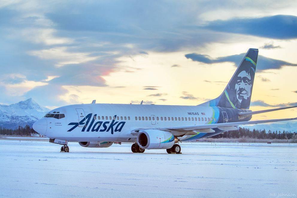 Alaska Airlines 737 Has A Bearstrike On Landing