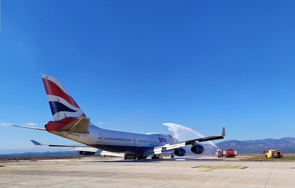 Retired British Airways 747 In Strange Fire Incident