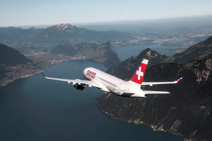 SWISS Switches To More Efficient Jets For The Winter