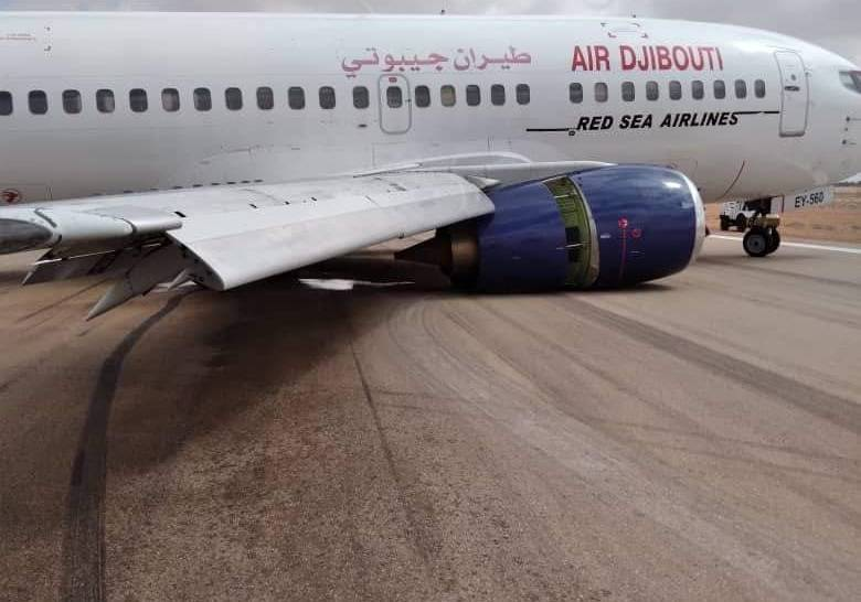 Air Djibouti Incident: 737 Landing Gear Collapse in Somalia