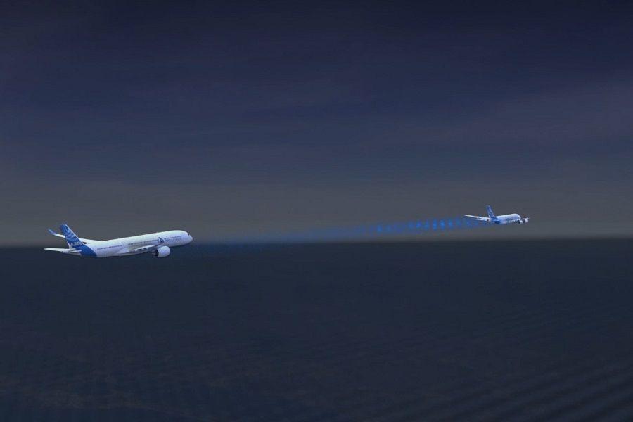Wake Energy Retrieval – Airbus Mimics Geese!