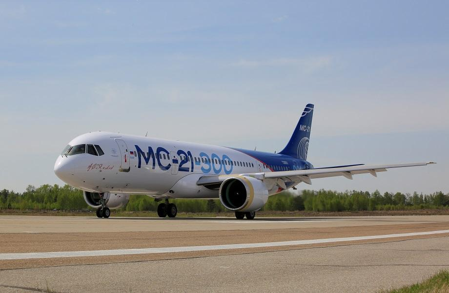Irkut MC-21 Makes First Flight With Russian Engines