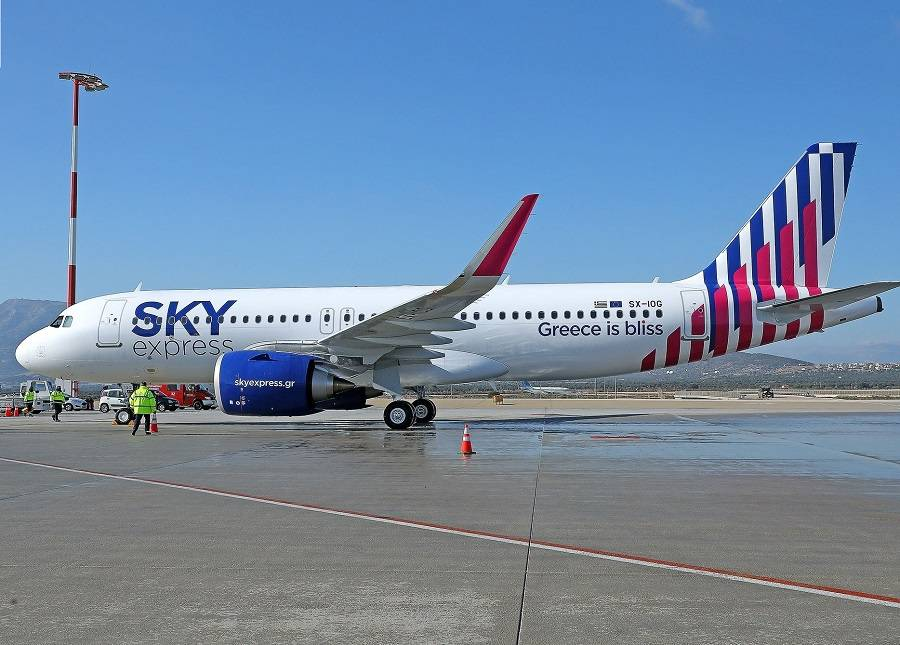 Sky Express Takes Delivery Of New A320neo – In 6 Weeks!