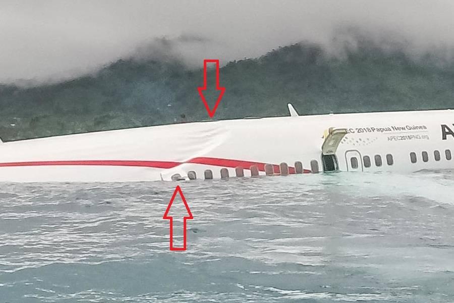 Air Niugini Flight 73 – A Very Strange Water Ditching