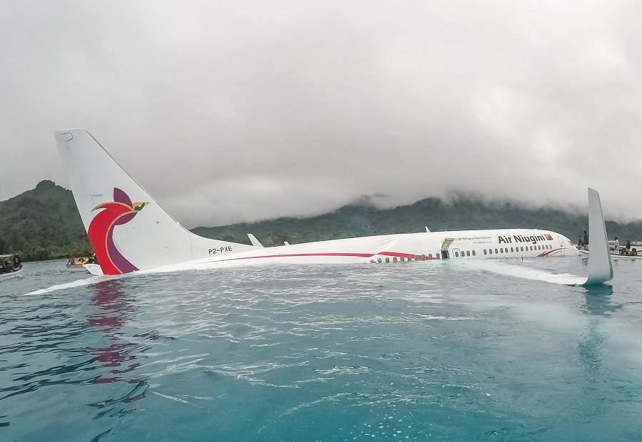 Air Niugini Flight 73 – A Very Strange Water Ditching