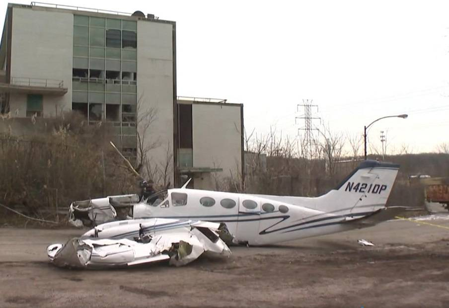 Cessna Pilot Survives Horrible New York Crash