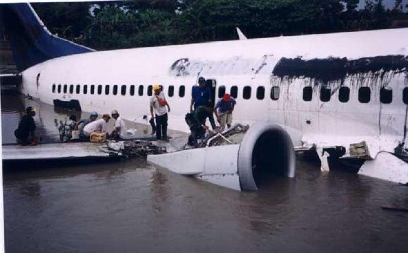 Garuda Indonesia Flight 421 – Water Ditching Success