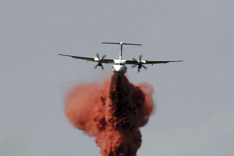 Firefighting – Q400 Fleet Get Surprising Career After FlyBe!