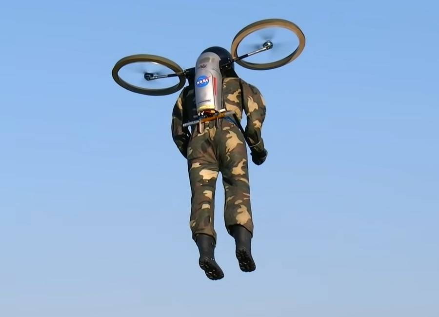JetPack Man – Another Myth Busted?