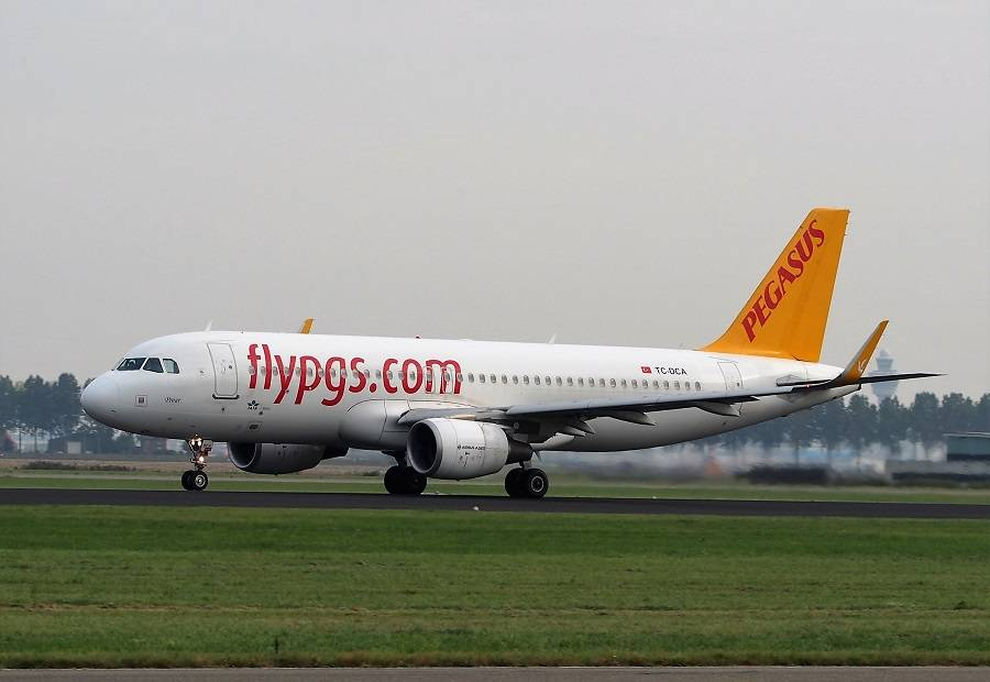 INCIDENT: Pegasus A320neo, Rotated Nose Gear Landing