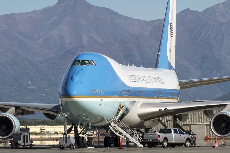 Two Tequila Bottles Found In Future Air Force One!