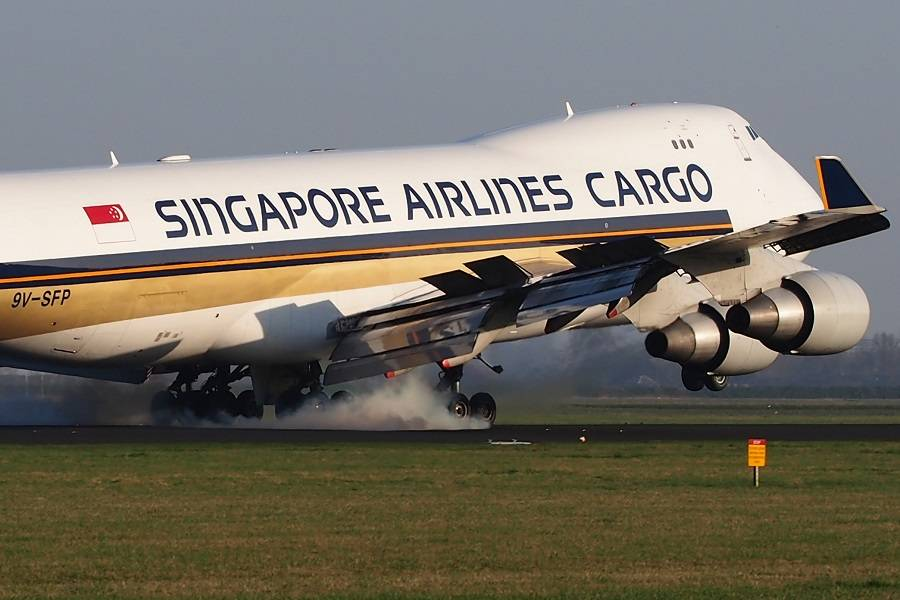 Incident: Singapore Boeing 747 Suffers FOD Damage?