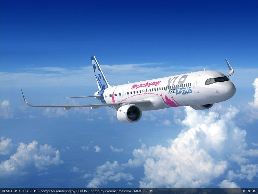 First Airbus A321XLR – Major Component Assembly Begins