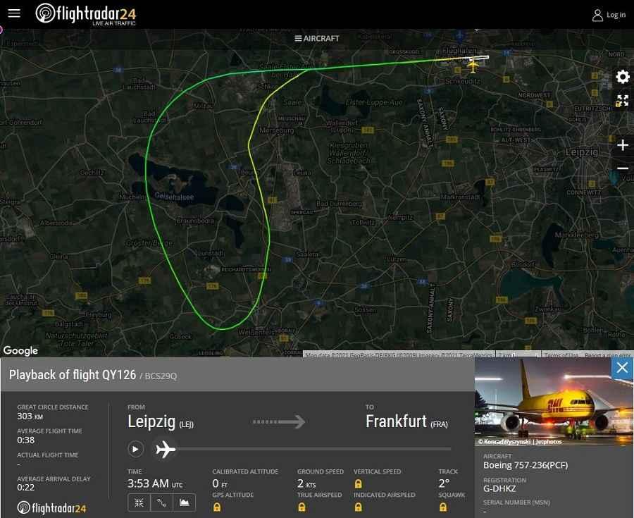 INCIDENT: DHL 757 Freighter Door Opens In Flight!