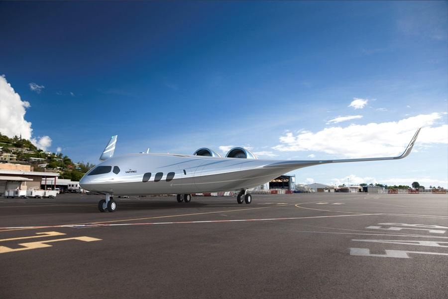 DZYNE Ascent – The Shape Of Future Airliners?