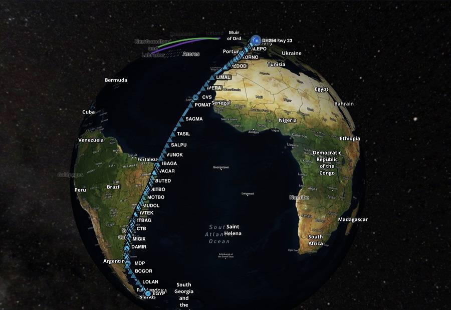 The Falkland Islands – Lufthansa Makes Longest Flight