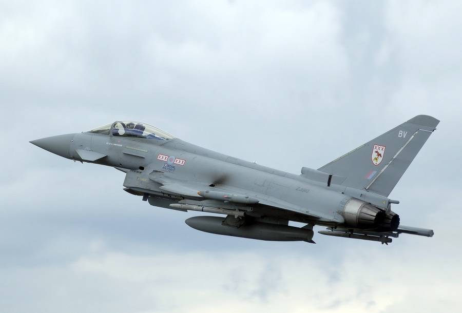 RAF Sonic Boom Fallout For British Ministry of Defence