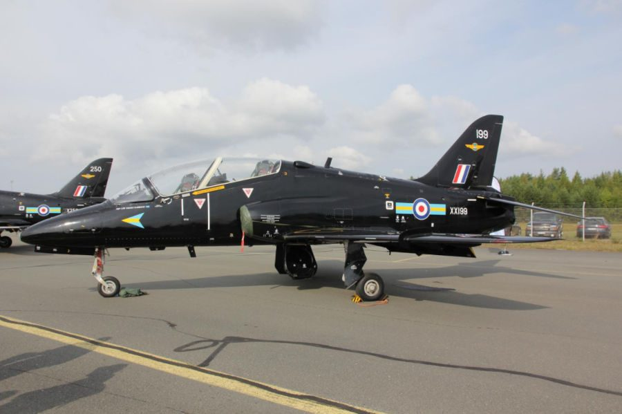 Hawk Jet Crashes in Cornwall – Pilots Eject Safely