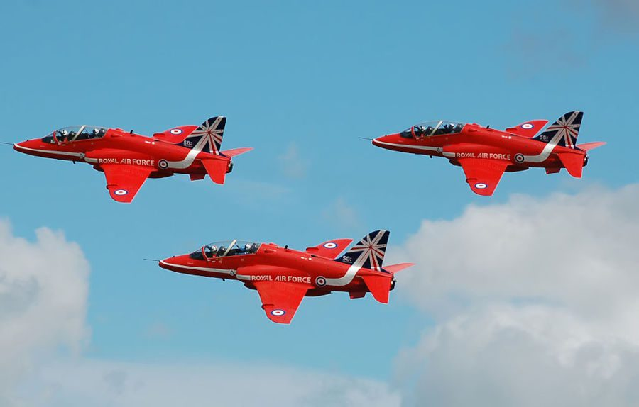 Hawk Jet Crashes in Cornwall - Pilots Eject Safely