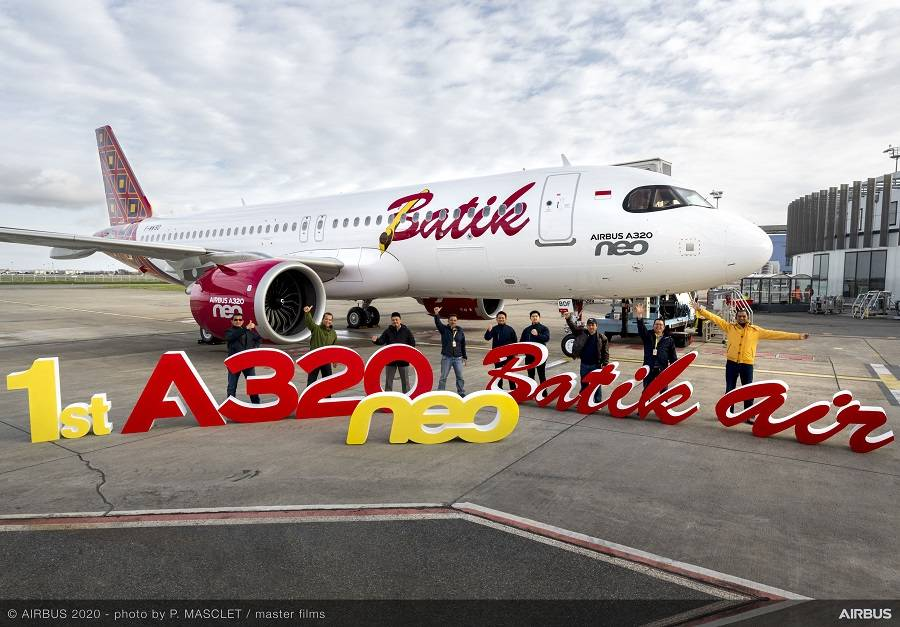 INCIDENT: Batik Air A320 Lands With Rotated Nose Gear