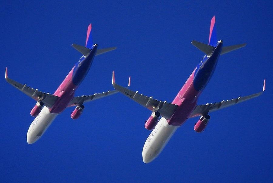 Wizz Air – Formation Flyover To Open First Welsh Base!