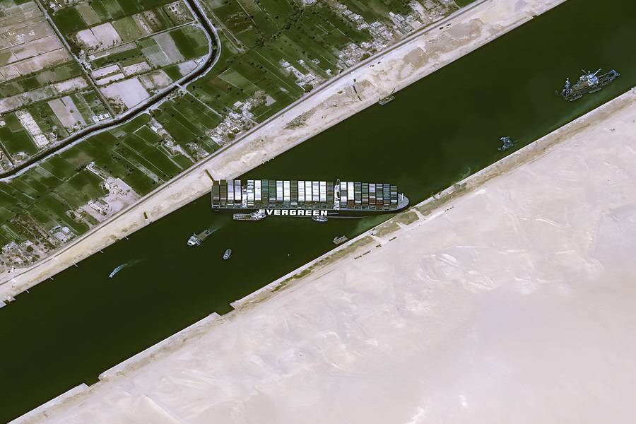 Suez Blockage – Air Cargo To The Rescue?