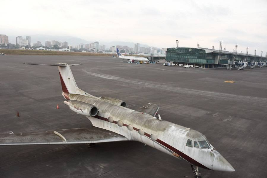 Volcanic Ash Closes La Aurora Airport in Guatemala