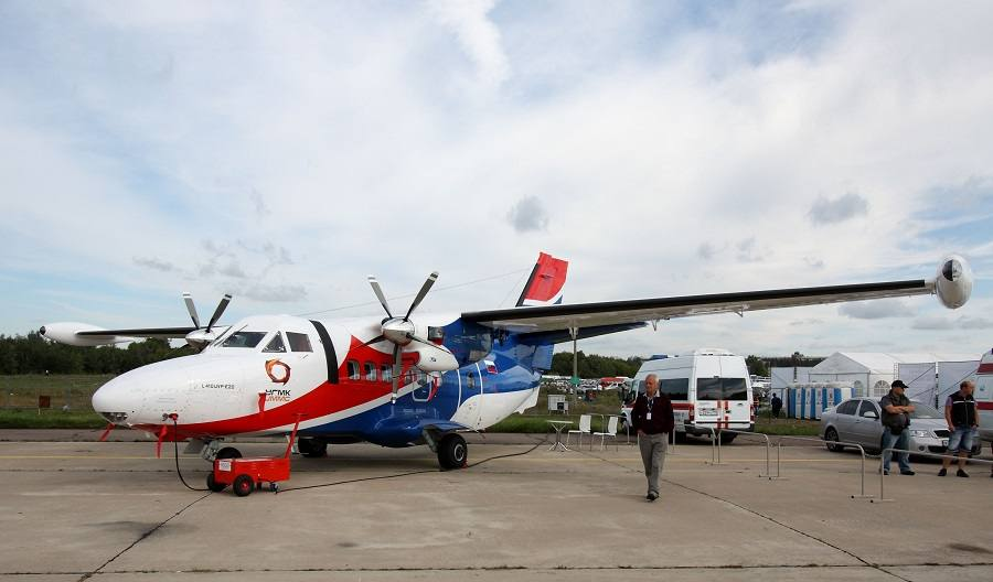 CRASH: Let L-410 With Parachutists In Siberia