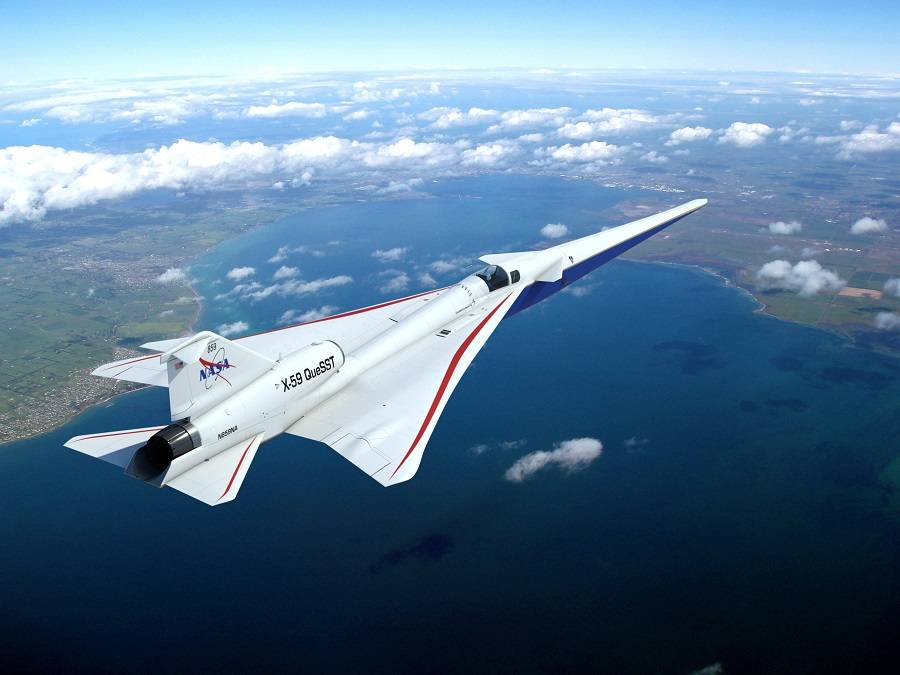 X-59 – NASA's Ques(s)t For Low-Boom Supersonic Flight!