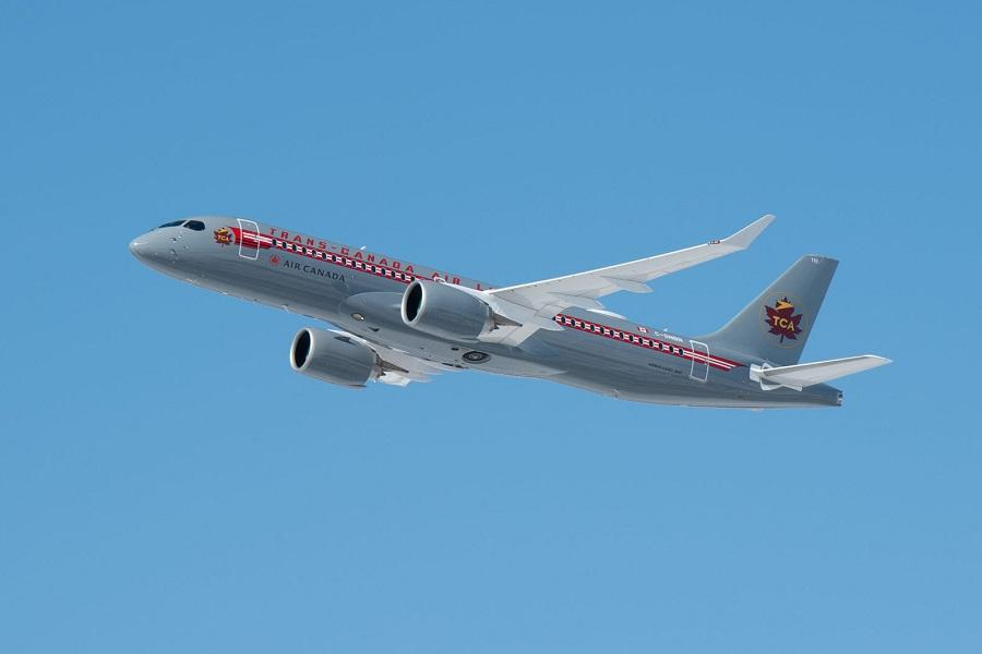 Retro Trans Canada Air A220 Enters Service!